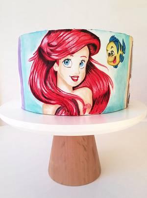 Disney princesses cake  - Cake by Gimena
