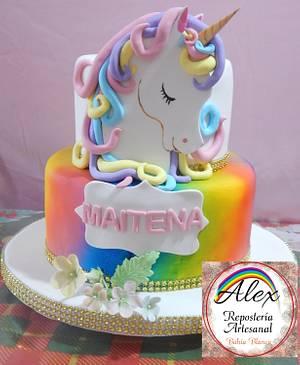 Unicornio - Cake by Alexrepostería