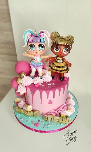 LOL Dolls - Cake by Tanya Shengarova