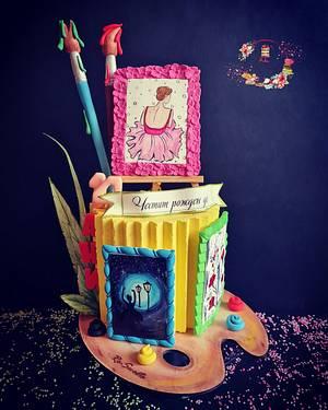 Art cake - Cake by Rositsa Aleksieva