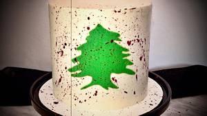 Let's help Lebanon  - Cake by Buttercut_bakery
