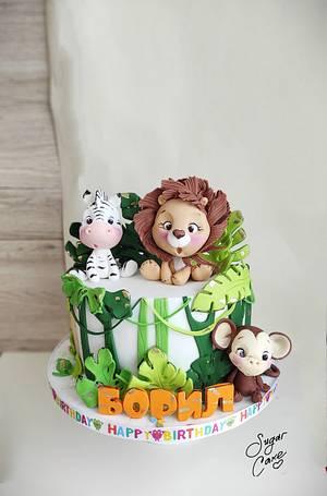 Jungle cake - Cake by Tanya Shengarova
