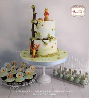 winnie the pooh - Cake by mona ghobara/Bonboni Cake