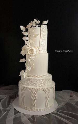 Islamic decoration wedding cake - Cake by Doaa Mokhtar