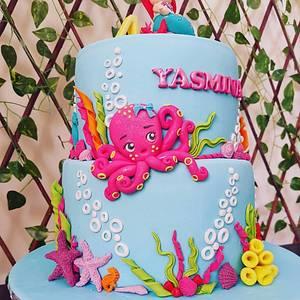 Little mermaid cake - Cake by Cakeandmore2020