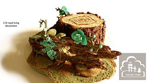 Heart of the Forest - Cake by PUDING FARM