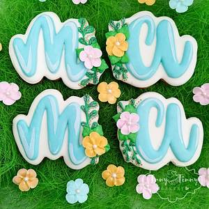 Mother's Day cookies - Cake by Inny Tinny