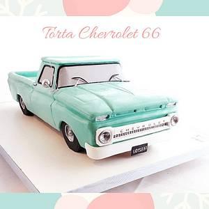 Chevrolet  66 Pickup cake - Cake by Maria de las Mercedes