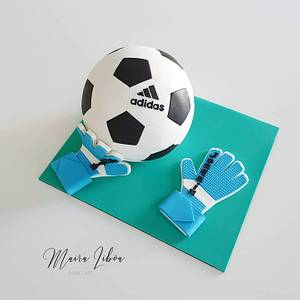 Soccer - Cake by Maira Liboa