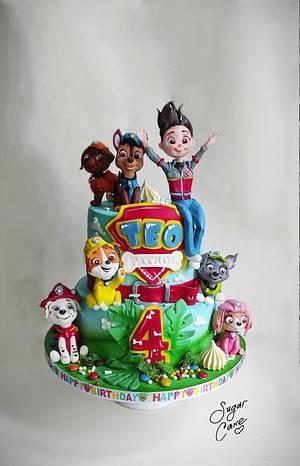 Paw patrol cake - Cake by Tanya Shengarova
