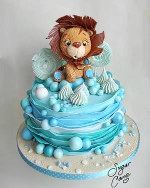Little lion - Cake by Tanya Shengarova