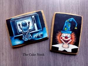 👻 Poltergeist horror film cookies. 👻 - Cake by Zoe White