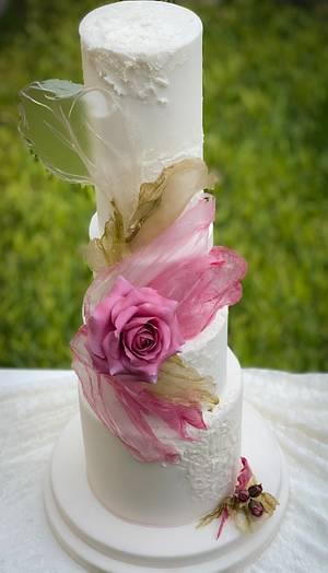 Delicado Pastel  - Cake by Griselda de Pedro