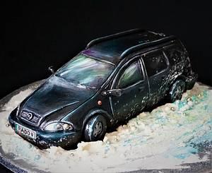 Opel - ganache cake - Cake by Torty Zeiko