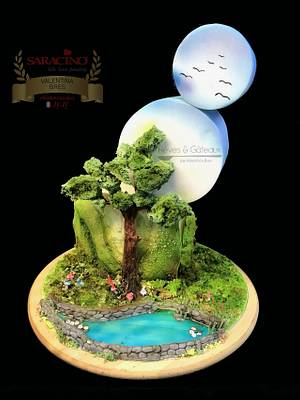 Nils Tree - Children's classic books Dreamland challenge  - Cake by Rêves et Gâteaux