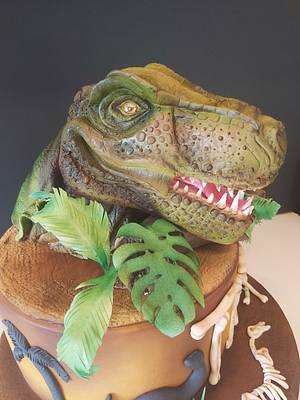 Dino - Cake by Caked