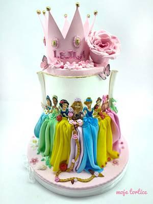Disney princess 👑 - Cake by My little cakes