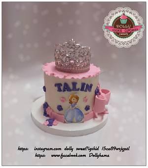 Princess Sofia cake  - Cake by Dolly Hamada