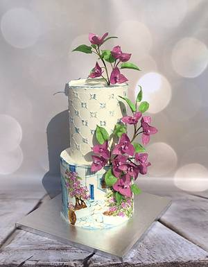 In the style of Mamma Mia - Cake by Renatiny dorty