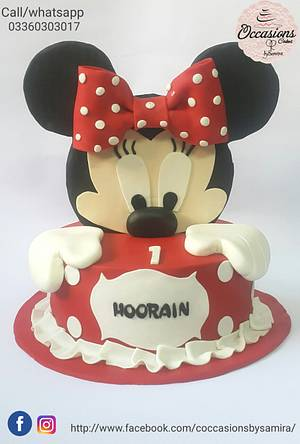 Mickey mouse cake - Cake by Occasions Cakes