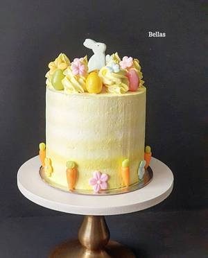 Happy Easter  - Cake by Bella's Cakes