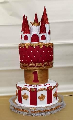 Cake castle  - Cake by Sunny Dream