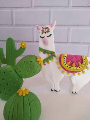 Torta llama - Cake by Yesiyodra90
