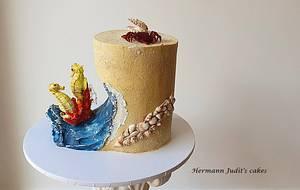 Sea cake - Cake by Judit