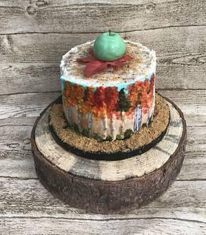 """Happy Birthday Eleanor  - Cake by June (""""Clarky's Cakes"""")"""