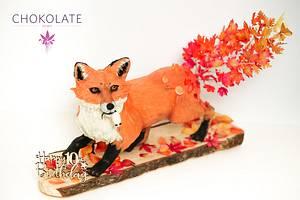 Fox Cake - Cake by ChokoLate
