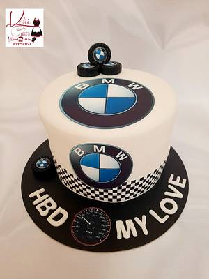 """""""Cake for BMW fans"""" - Cake by Noha Sami"""