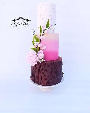 Romantic Textures - Cake by Sofia veliz
