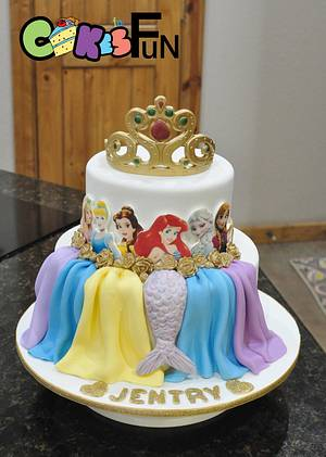Princess cake - Cake by Cakes For Fun