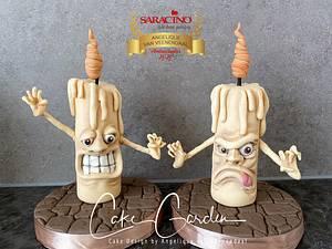 Crazy candles - Cake by Cake Garden