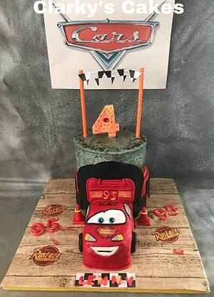 "Happy 4th 🎂🎂 Birthday Lennon - Cake by June (""Clarky's Cakes"")"