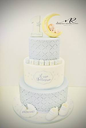 Sweet Baby Boy - Cake by Romina Novellino