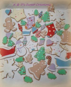 Christmas cookies - Cake by Konstantina - K & D's Sweet Creations