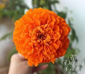 Sugar Marigold - Cake by Ashwini Sarabhai