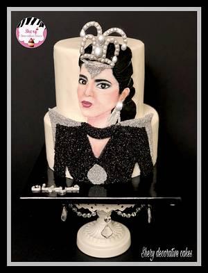 Paint brush cake  - Cake by Shereen Adel