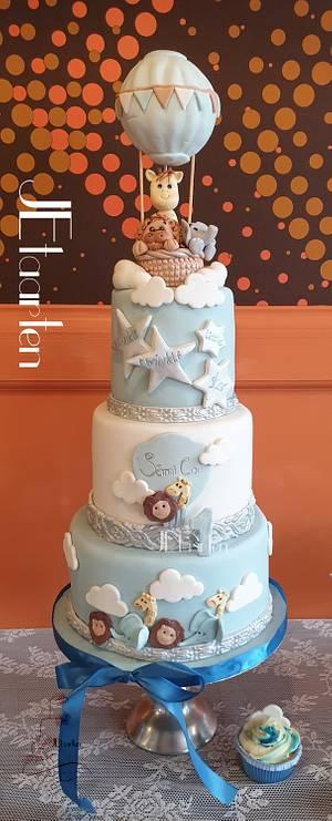 Party animals Birthdaycake  - Cake by Judith-JEtaarten