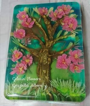 albero in fiore - Cake by Graziella Albore