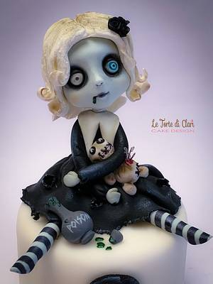 Lil' Mortina - Cake by Rita Cannova