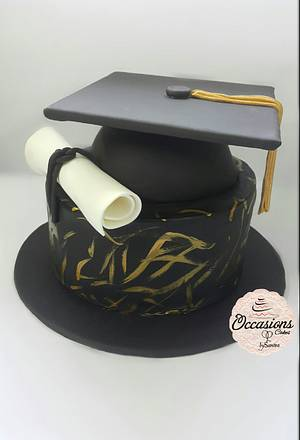 Graduation Cake - Cake by Occasions Cakes