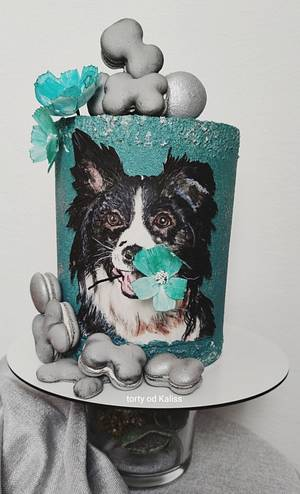 Bday dog - Cake by Kaliss