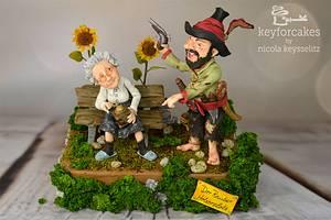 Räuber Hotzenplotz - Children's classic books Dreamland challenge - Cake by Nicola Keysselitz