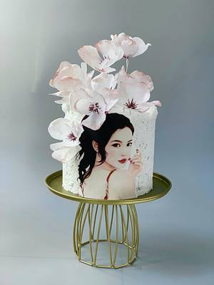 Japanese girl - Cake by Dsweetcakery