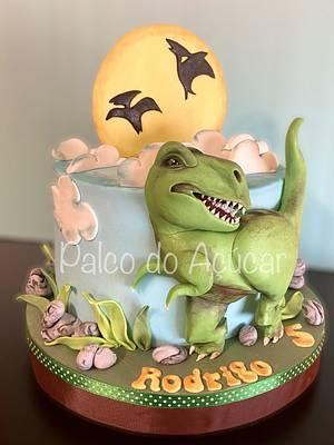 T-rex Cake  - Cake by Palco do Açúcar