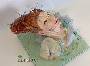 Helka the Lake Fairy - Cake by Agnes Havan-tortadecor.hu