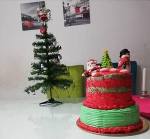 Christmas cake - Cake by Naro
