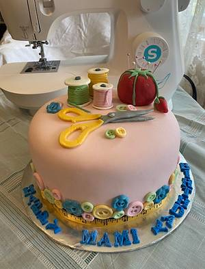 Seamstress cake - Cake by Julia